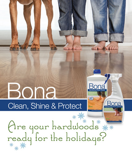 Bring Bona Home for the Holidays for Beautiful, Shiny Floors