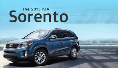 The 2015 Kia Sorento crossover is the first of the 2015 Kia models to reach Bill Jacobs Kia in Joliet, IL. (PRNewsFoto/Bill Jacobs Kia) (PRNewsFoto/BILL JACOBS KIA)