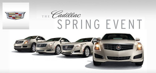 The Cavender Cadillac Spring Event still has time remaining for customer to learn about the latest in Cadillac technology.  (PRNewsFoto/Cavender Cadillac)