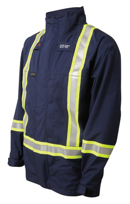 GORE(R) FR Apparel products feature GORE-TEX(R) PYRAD(R) Fabric - the most comfortable flame-resistant (FR), foul-weather outerwear available on the market. GORE(R) FR Apparel is a new line of FR foul weather outerwear products designed to meet the demanding needs of oil and gas workers. Photo: W. L. Gore & Associates, Inc.