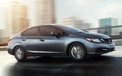 2014 Honda Civic.  (PRNewsFoto/Honda of Manhattan)