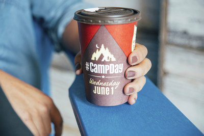 To showcase the benefits of Camp Day, Tim Hortons launched an exciting new red cup design. These cups feature speech bubbles that showcase the impact of what buying a cup of coffee can have on kids' experience at camp including: helping kids believe in themselves, helping to create a brighter future, helping to build courage and confidence, and helping kids to be their best. This year, Guests who want to help to raise awareness about Camp Day can also purchase a red Camp Day bracelet at participating Restaurants for $2 plus tax while supplies last.