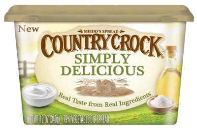 """""""Country Crock(R) Simply Delicious(TM) spread by Unilever."""" (PRNewsFoto/Unilever)"""
