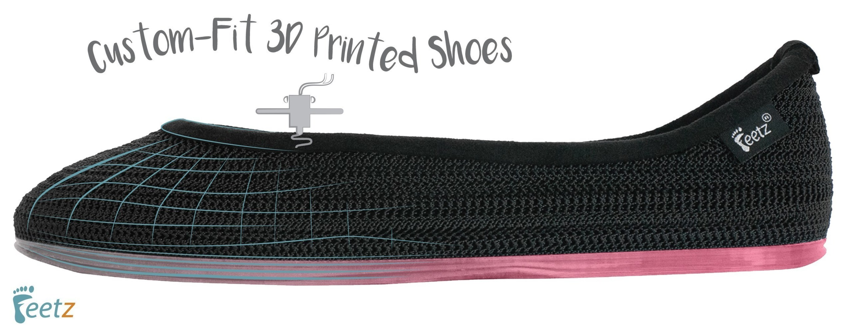 Feetz custom-fit, sustainably made 3D printed shoes.