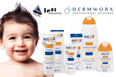 DermWORX and LETI Laboratories to launch leading dermatitis line in the U.S. The partnership represents LETIs inaugural launch in North America.