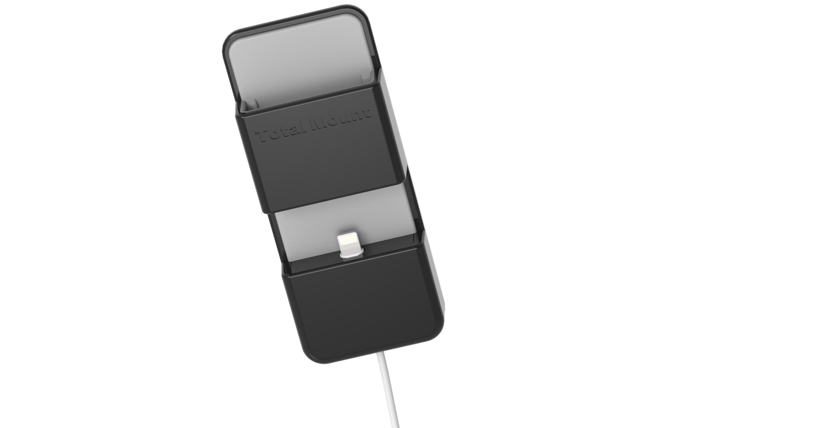 TotalMount Apple TV Remote Holder, which is included in the TotalMount Pro bundle sold in Apple stores worldwide.