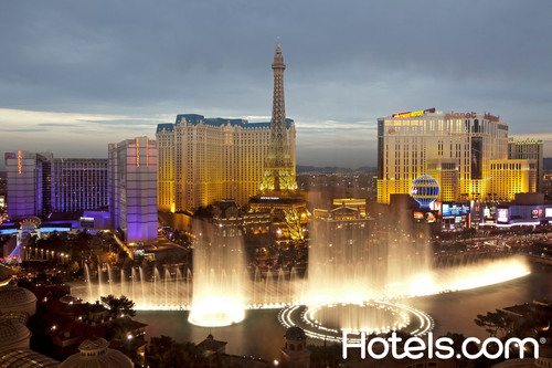Las Vegas is the top redeemed destination in North America for Hotels.com Welcome Rewards. ...