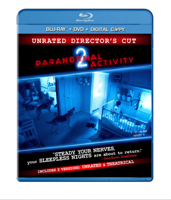 Terror Comes Home When the Record-Breaking Supernatural Thriller Paranormal Activity 2 Arrives on Blu-ray and DVD with a Shocking Unrated Version And Newly Found Footage on February 8, 2011.  (PRNewsFoto/Paramount Home Entertainment)