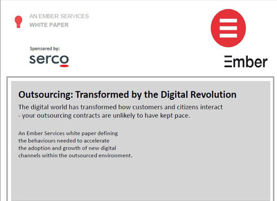 New Ember Serco White Paper.  (PRNewsFoto/Serco)