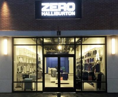 Outside of ZERO HALLIBURTON - Clarksburg Premium Outlets