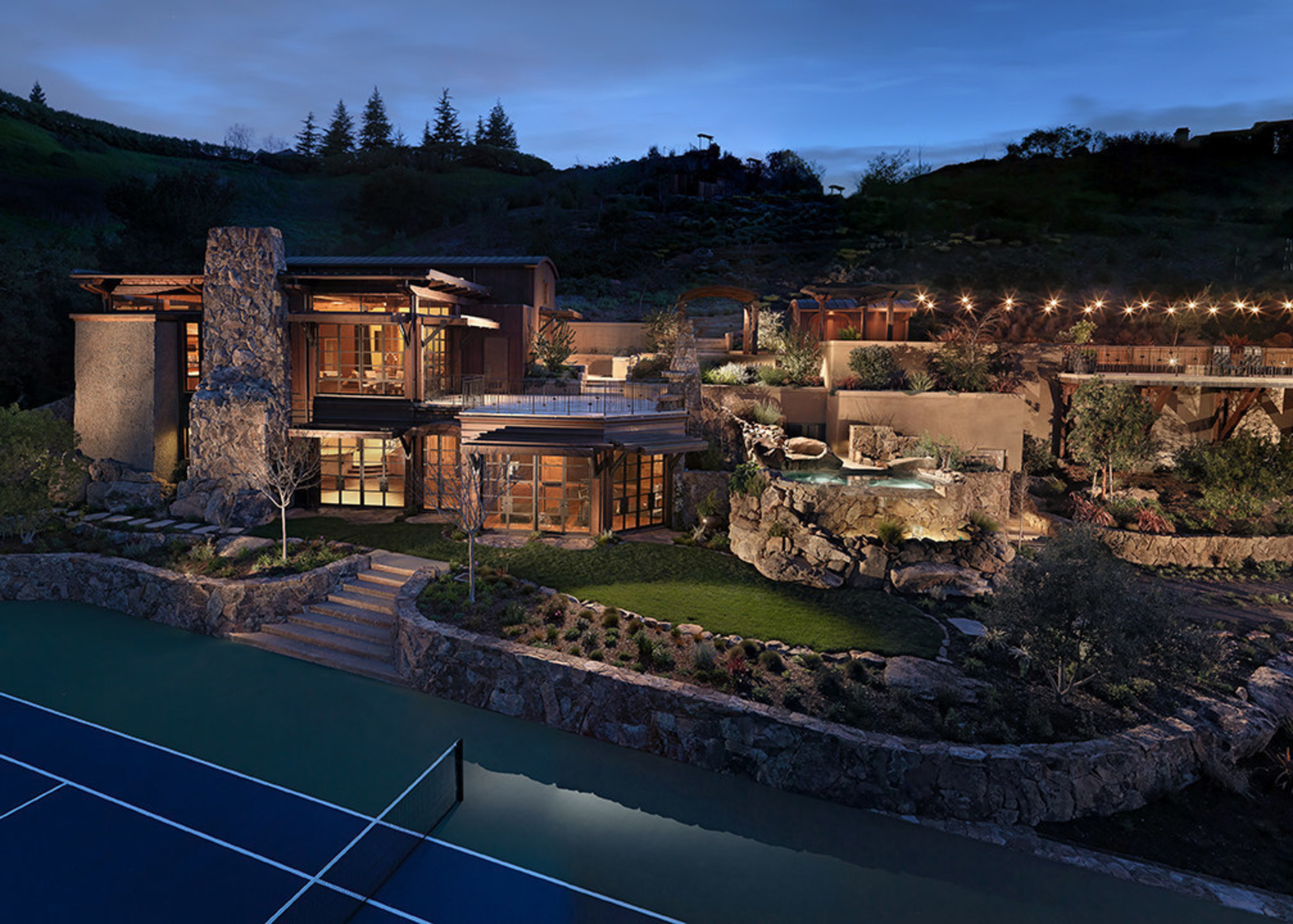 Ultra Luxury Bay Area Estate Includes Spectacular Multi-Sports Complex