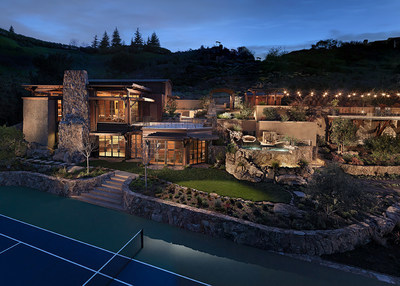 Completed in 2008, this remarkable leisure oasis includes: a $100,000 indoor full-swing golf simulator; private yoga studio; tennis, racquetball and squash courts; a bocce center; rock climbing wall with self belay system; putting green complete with bunker and pitching area; and video game center. Health-conscious? Relax in the dry sauna, steam room and/or soak in the huge infinity-edged spa complete with waterfall.