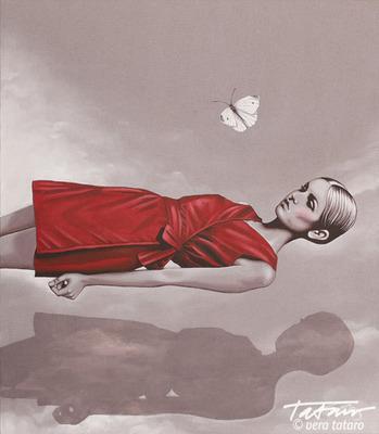 Of Death - new artwork, acrylic on canvas 70X90 cm, vera tataro.  (PRNewsFoto/Tataro)