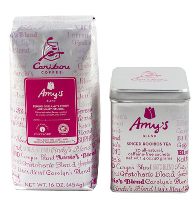 Caribou Coffee Partners with CancerCare through Amy's Blend Campaign to Provide Support to Those Impacted by Breast Cancer