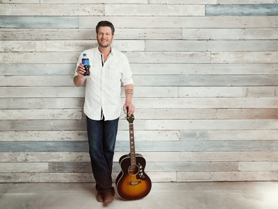Pepsi Announces Partnership With Blake Shelton And Kicks Off Summer In A Real Big Way