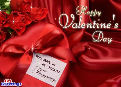 Happy Valentine's Day. (PRNewsFoto/123Greetings.com) (PRNewsFoto/123GREETINGS.COM)