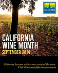 Wine Institute California Wine Month. (PRNewsFoto/Wine Institute)