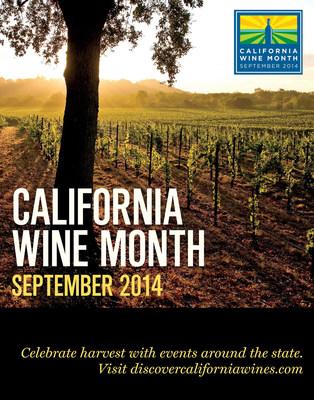 Wine Institute California Wine Month. (PRNewsFoto/Wine Institute)