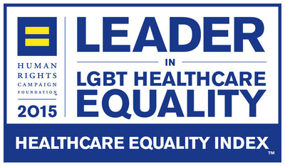The Children's Hospital of Philadelphia has been named a leader in LGBT healthcare equality by the Human Rights Campaign (HRC) Foundation