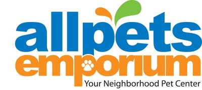 Allpets Emporium logo.  (PRNewsFoto/Aquarium Retail Holdings, Inc.)