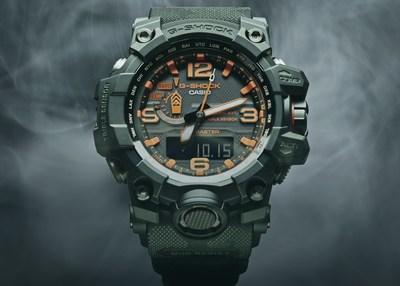 G-SHOCK x Maharishi Collaboration Timepiece - MUDMASTER GWG1000MH-1A