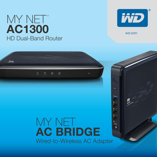 WD Unveils Blazing Fast 802.11ac Wireless Router And Bridge For Maximum Wi-Fi Speeds And