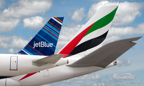 JetBlue and Emirates to Expand Partnership Agreement with Bilateral Codeshare.  (PRNewsFoto/JetBlue Airways)