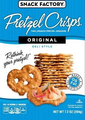 Snack Factory(R) Original Pretzel Crisps(R)