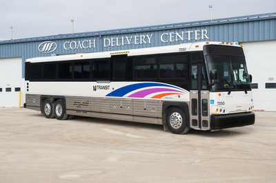 Motor Coach Industries marks new milestone with NJ TRANSIT; orders 772 MCI Commuter Coaches. Accessible, Wi-Fi ready, passenger seatbelts, clean-diesel coaches will replace older models