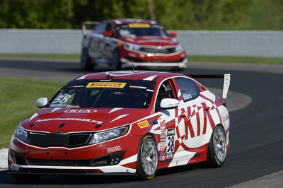 Kia Racing scores back-to-back podium finishes in rounds nine and ten at Road America