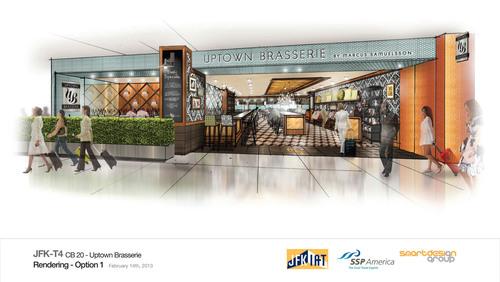 Uptown Brasserie by Marcus Samuelsson.  (PRNewsFoto/SSP America)