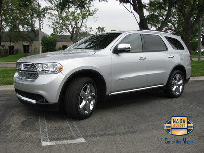 2011 Dodge Durango is Awarded NADAguides November Car of the Month.  (PRNewsFoto/NADAguides)