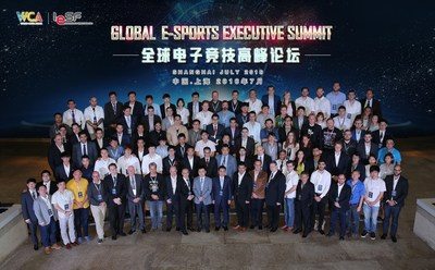 Delegates of WCA & IeSF Global e-Sports Executive Summit