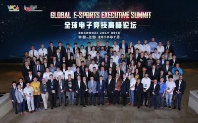 Delegates of WCA & IeSF Global e-Sports Executive Summit