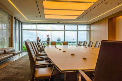 With panoramic views of the Capitol dome, the Washington Monument and the District's picturesque cityscape, Spire is now available to host corporate events atop 750 First Street, NE in the NoMa/Capitol Hill area of downtown Washington, DC.