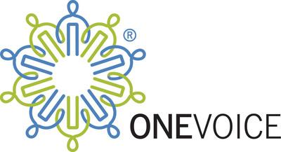 OneVoice logo.  (PRNewsFoto/The OneVoice Movement)