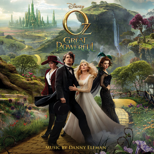 Oz The Great and Powerful Original Motion Picture Score Soundtrack.  (PRNewsFoto/Walt Disney Records)
