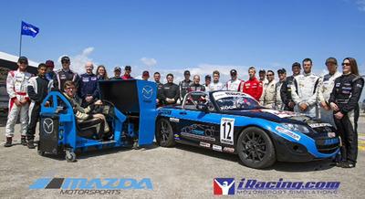 Mazda Motorsports and iRacing Team Up