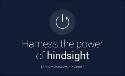 Brandwatch Twitter Hindsight (PRNewsFoto/Brandwatch)