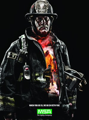 """Breathe Easier.  It's Here.""  MSA's Next-Generation G1 SCBA Now NFPA Approved!"