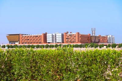 The Abu Dhabi-based Masdar Institute of Science and Technology is the Gulf region's first research university focused on sustainability, with a purpose-built 'green campus' and specialized master's and doctoral programs developed with the Massachusetts Institute of Technology that respond to the challenges posed by global climate change and resource scarcity. (PRNewsFoto/Masdar Institute)