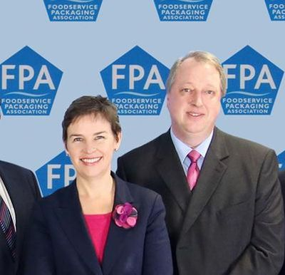 Image shows Mary Creagh MP and Neil Whittall, Chairman of the FPA.