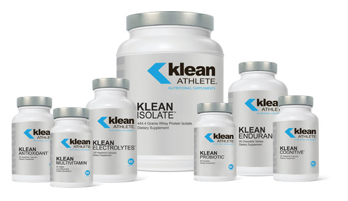 A new line of NSF Certified For Sport(R) nutritional supplements, Klean Athlete(TM) is designed specifically for athletes and certified to be free of banned substances. Emerson Ecologics is the exclusive distributor to doctors and health care practitioners.  (PRNewsFoto/Emerson Ecologics, LLC)