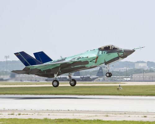 U.S. Navy Version of Lockheed Martin F-35 Makes First Flight