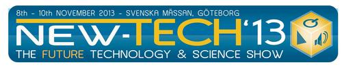 Logo New-Tech'13 – The future technology and science show (PRNewsFoto/Chester Group (Exhibition) Ltd)