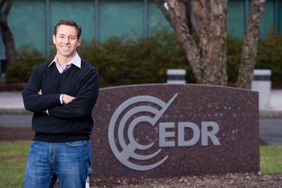 EDR CEO, Rob Barber.  (PRNewsFoto/EDR)