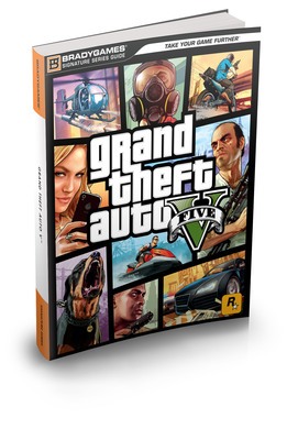 BradyGames Announces Grand Theft Auto V(TM) Strategy Guides.  (PRNewsFoto/BradyGames)