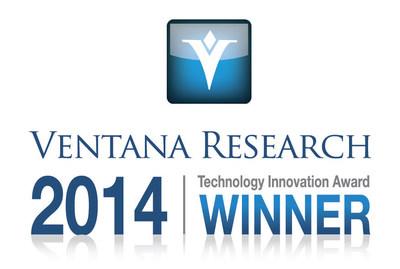 2014 Ventana Research Technology Innovation Award