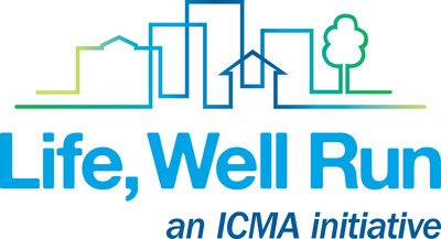 Life, Well Run is an ICMA initiative.  (PRNewsFoto/ICMA)