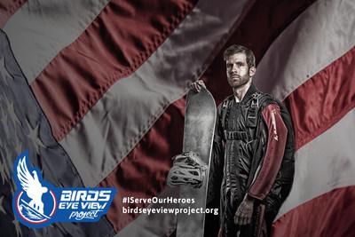 """Ryan """"Birdman"""" Parrott in his wing suit."""